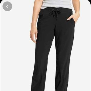 Athleta Lined Jogger Pants - Black 2P
